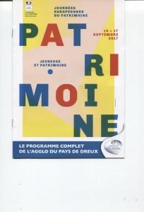 JOURNEES DU PATRIMOINE 2017 @ Eglise de Nonancourt