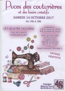 LES PUCES DES COUTURIERES @ ASSOCIATION DES 4 SAISONS | Lausanne | Vaud | Suisse