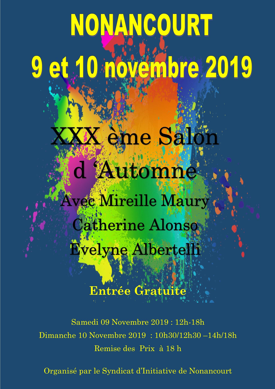 affiche salon 2019