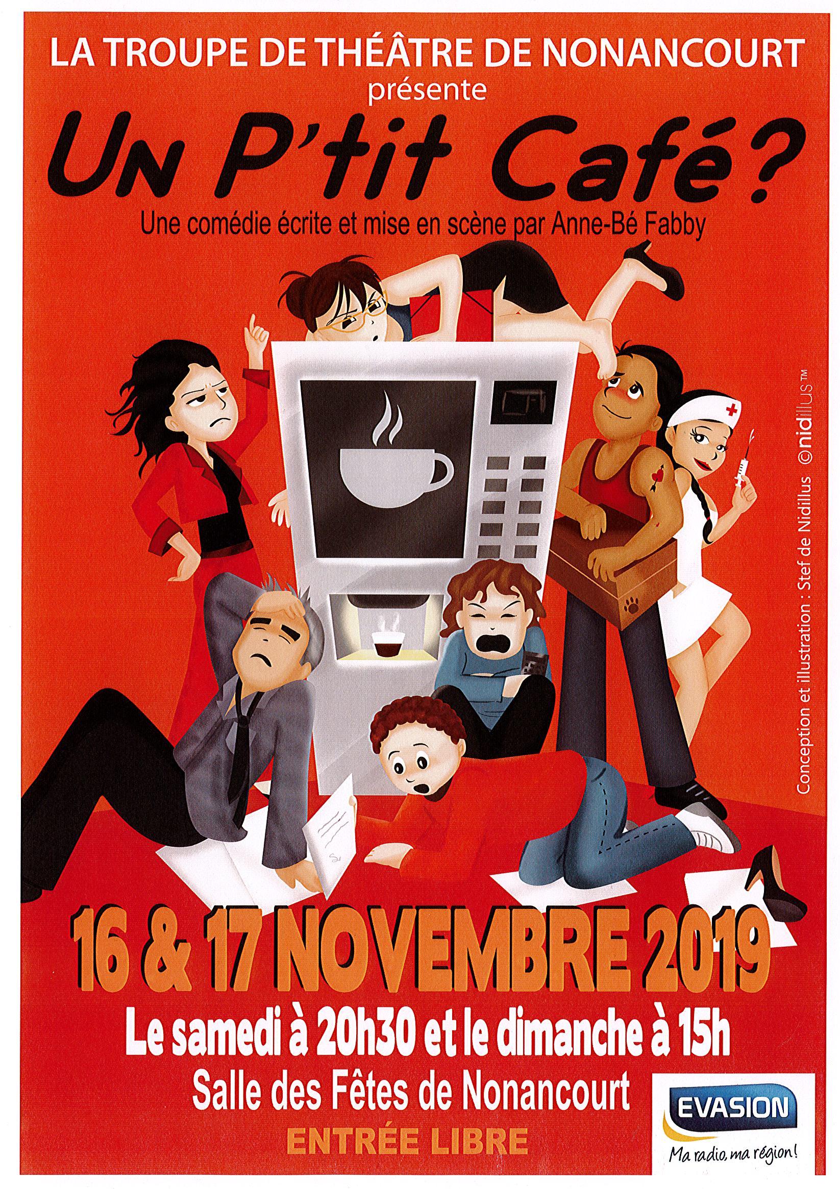 Théâtre : Un p'tit café
