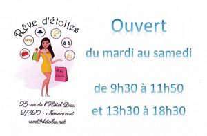 Boutique Rêve d'Etoiles1