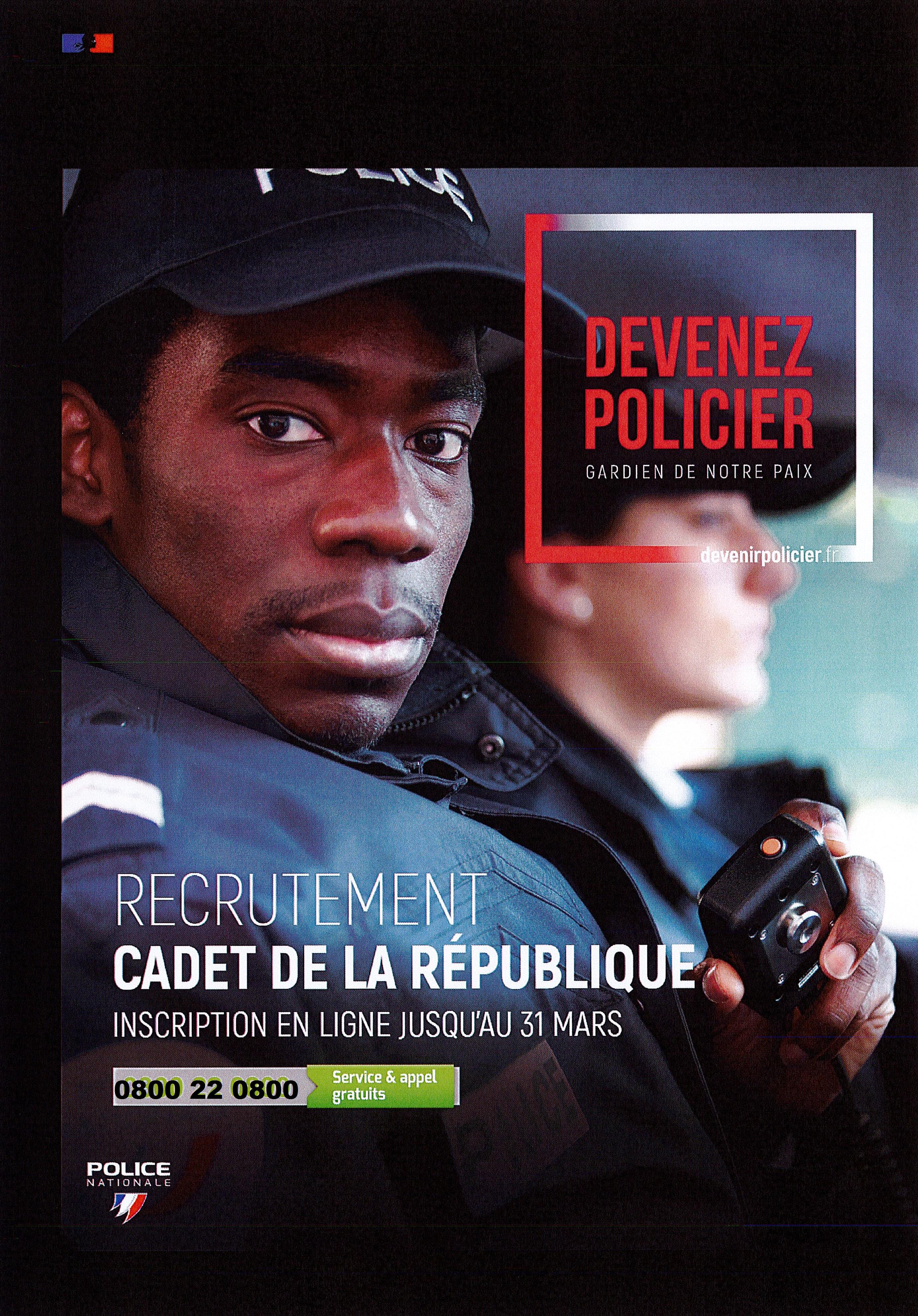 Cadet de la république maj
